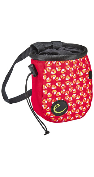 Edelrid Cosmic Chalk Bag Lady red-orange